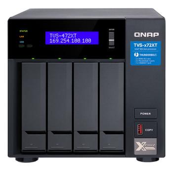 Image for QNAP TVS-472XT-PT-4G 4 Bay Diskless NAS Pentium G5400T 2 Core 3.1GHz 4GB AusPCMarket