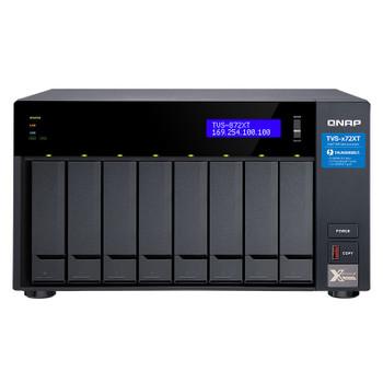 Image for QNAP TVS-872XT-I5-16G 8 Bay Diskless NAS i5-8400T 6 Core 1.7GHz 16GB AusPCMarket
