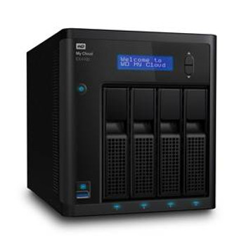 Western Digital WD My Cloud EX4100 4-Bay 2x 4TB NAS - Marvell 1.6GHz Dual-Core CPU, 2GB RAM Product Image 2