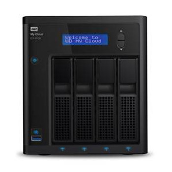 Western Digital WD My Cloud EX4100 4-Bay 4x 6TB NAS - Marvell 1.6GHz Dual-Core CPU, 2GB RAM Product Image 2
