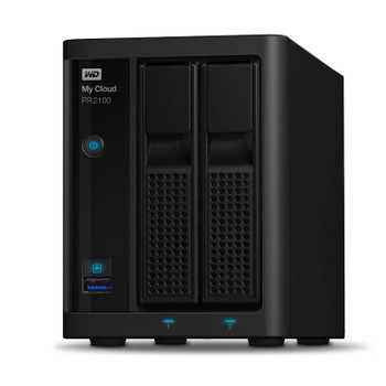 Image for Western Digital WD My Cloud PR2100 Pro Series 4TB 2-Bay NAS (WDBBCL0040JBK) AusPCMarket