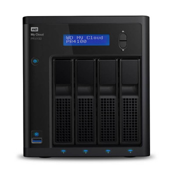 Image for Western Digital WD My Cloud PR4100 Pro Series 16TB 4-Bay NAS (WDBNFA0160KBK) AusPCMarket