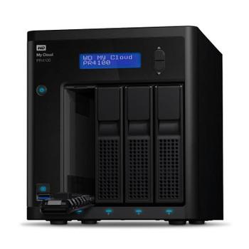 Western Digital WD My Cloud PR4100 Pro Series 32TB 4-Bay NAS (WDBNFA0320KBK) Product Image 2
