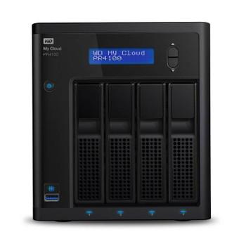 Image for Western Digital WD My Cloud PR4100 Pro Series 40TB 4-Bay NAS (WDBNFA0400KBK) AusPCMarket