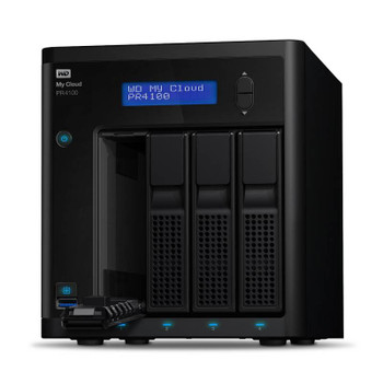 Western Digital WD My Cloud PR4100 Pro Series 8TB 4-Bay NAS (WDBNFA0080KBK) Product Image 2