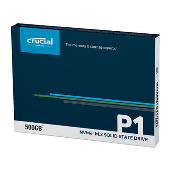 Crucial P1 500GB NVMe M.2 PCIe 3D NAND SSD CT500P1SSD8 Product Image 2