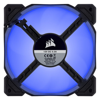 Corsair AF Series AF120 LED (2018) 120mm Fan - Blue - 3 Pack Product Image 2