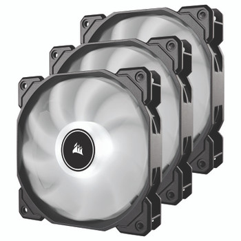 Image for Corsair AF Series AF120 LED (2018) 120mm Fan - White - 3 Pack AusPCMarket
