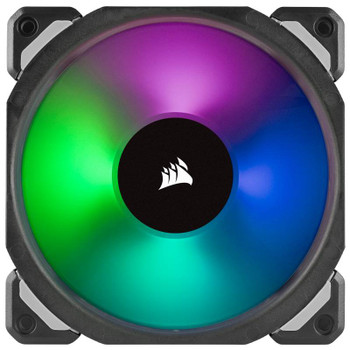 Corsair ML120 PRO RGB LED 120mm Magnetic Levitation Fan - 3 Pack with Controller Product Image 2