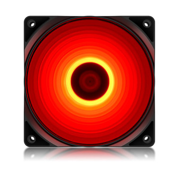 Image for Deepcool RF120R 120mm High Brightness LED Fan - Red AusPCMarket