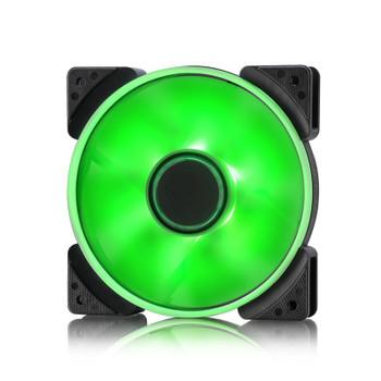 Image for Fractal Design Prisma Series SL-12 120mm LED Case Fan - Green AusPCMarket