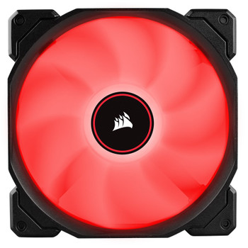 Corsair Air Series AF140 LED (2018) Low Noise 140mm Fan - Red - 2 Pack Product Image 2