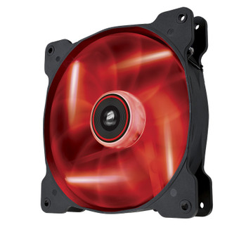 Image for Corsair Air Series AF140 LED Quiet Edition Airflow 140mm Fan Red AusPCMarket