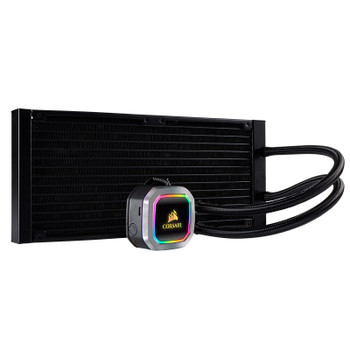 Corsair Hydro Series H115i PLATINUM RGB 280mm All-in-One Liquid CPU Cooler Product Image 2