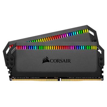 Corsair Dominator Platinum RGB 16GB (2x 8GB) DDR4 3600MHz Memory - Black Main Product Image
