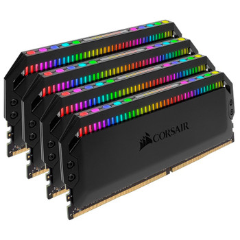 Corsair Dominator Platinum RGB 64GB (4x 16GB) DDR4 3600MHz Memory - Black Product Image 2