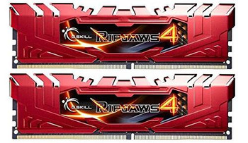Image for G.Skill Ripjaws 4 16GB (2x 8GB) DDR4 2400MHz Memory Red AusPCMarket