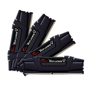 Image for G.Skill Ripjaws V 32GB (4x 8GB) DDR4 3600MHz CL16 Memory - Black AusPCMarket