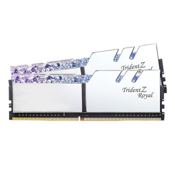 Image for G.Skill Trident Z Royal RGB 16GB (2x 8GB) DDR4 CL16 3000MHz Memory - Silver AusPCMarket