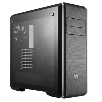 Image for Cooler Master Masterbox CM694 Tempered Glass Mid-Tower E-ATX Case - Black AusPCMarket