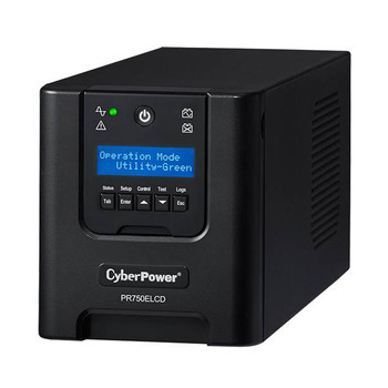 CyberPower PR750ELCD Professional Tower 750VA / 675W Pure Sine Wave UPS Product Image 2