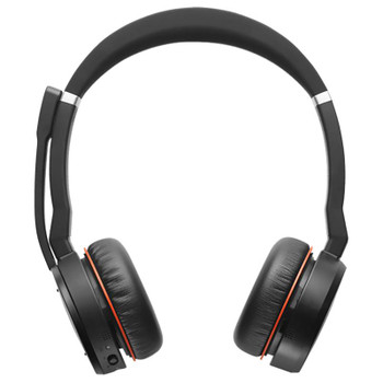 Jabra Evolve 75 MS Stereo Headset with Charging Stand Product Image 2