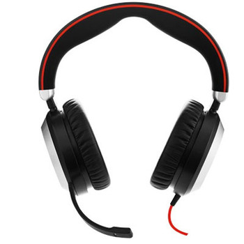 Jabra EVOLVE 80 UC Stereo Headset Product Image 2