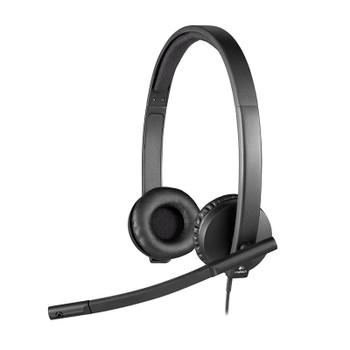 Image for Logitech H570E On-Ear USB Headset AusPCMarket
