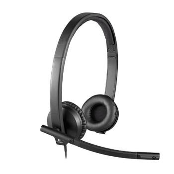Logitech H570E On-Ear USB Headset Product Image 2
