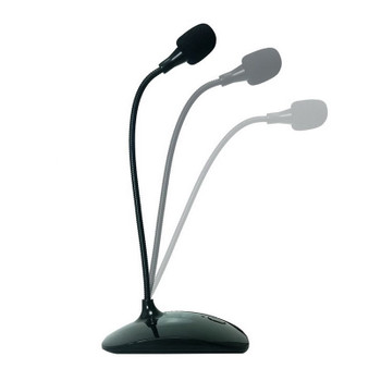 Simplecom UM350 Plug & Play Flexible Neck USB Desktop Microphone with Mute Product Image 2