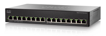 Image for Cisco SG110-16HP 16-port Gigabit PoE Unmanaged Switch AusPCMarket