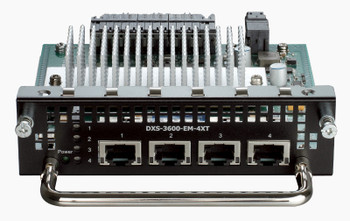 Image for D-Link 4-Port 10GBASE-T Module for DXS-3600-series - DXS-3600-EM-4XT AusPCMarket
