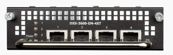 D-Link 4-Port 10GBASE-T Module for DXS-3600-series - DXS-3600-EM-4XT Product Image 2