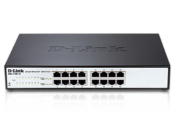 Image for D-Link DGS-1100-16 16-Port Gigabit EasySmart Switch 1U Rackmountable AusPCMarket