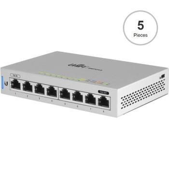 Image for Ubiquiti Networks US-8-5 UniFi Switch 8 Managed 8-Port Gigabit Switch - 5 Pack AusPCMarket