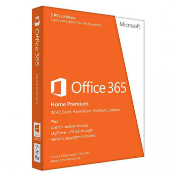 Image for Microsoft Office 365 Home (5 Devices) - 1 Year - Digital Download AusPCMarket