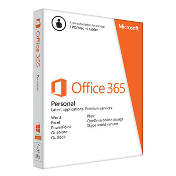 Image for Microsoft Office 365 Personal (1 PC) - 1 Year - Digital Download AusPCMarket
