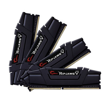 Image for G.Skill Ripjaws V 128GB (4x 32GB) DDR4 2666MHz CL18 Memory - Black AusPCMarket