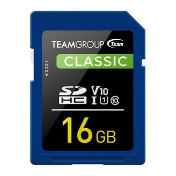 Image for Team Classic 16GB SDHC U1 V10 Class 10 Memory Card AusPCMarket