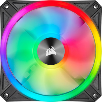 Corsair iCUE QL120 RGB 120mm PWM Fan - Three Pack with Lighting Node CORE Product Image 2