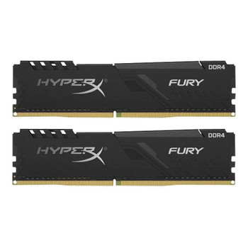 Image for Kingston HyperX FURY 16GB (2x 8GB) DDR4 3200MHz Memory - Black AusPCMarket