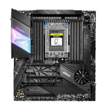 MSI Creator TRX40 sTRX4 E-ATX Motherboard Product Image 2