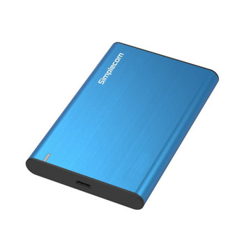 Image for Simplecom SE221 Aluminium 2.5in SATA HDD/SSD USB3.1 Enclosure - Blue AusPCMarket