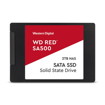 Image for Western Digital WD Red 2TB 2.5in SA500 NAS SATA SSD WDS200T1R0A AusPCMarket