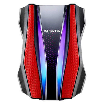 Adata HD770G 2TB USB 3.0 Rugged External Hard Drive - Red Product Image 2