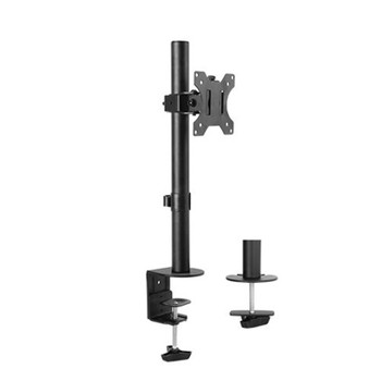 Image for Brateck Dual-Screen Economical Double-joint Articulating 13in-32in Monitor Stand AusPCMarket