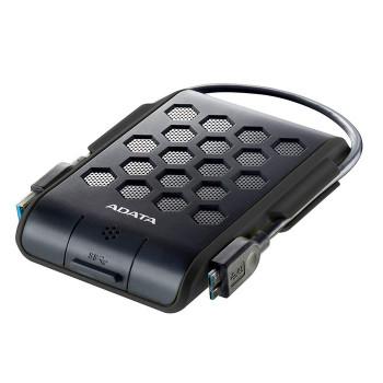 Adata HD720 1TB USB 3.0 Military-Grade Shockproof Portable External HDD - Black Product Image 2