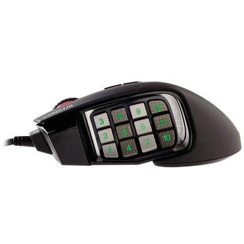 Corsair Scimitar RGB Elite Optical Gaming Mouse - Black Product Image 2