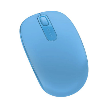 Microsoft Wireless Mobile Mouse 1850 - Cyan Blue Product Image 2