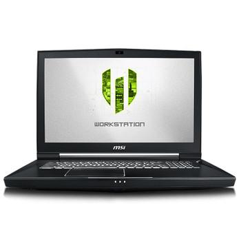 Image for MSI WT75 9SM 17.3in 4K Workstation Laptop i9 32GB 512GB+1TB Quadro P5200 W10P AusPCMarket